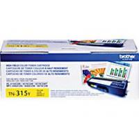 Brother TN315Y High Yield Yellow Toner Cartridge; Yield: 3,500 pages Brother TN315Y