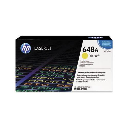 HP 648A CE262A Yellow Toner Cartridg HP CE262A